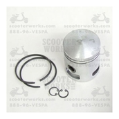 Piston (57.4 mm, 3-port); Vespa 150 ccS