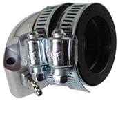 NCY Polished Intake Manifold (NON-EGR, 28mm); QMI, QMJ, GY6S