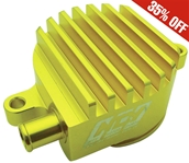 Billet High-flow Crank Breather (Gold) ; Yamaha Vino 125 NCYS
