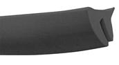 Cowl Rubber (Black);  Vespa LFS