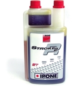 Oil, Ipone  2T  (synthetic racing oil),;1LS