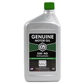 Genuine 4T Motor Oil (5W40, Full Synthetic MA-2); 1 QuartS