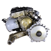 Engine, (150 cc  oil-injected 5 port w/electric start) ;S