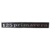 Emblem  (rear) ; 125 PrimaveraS