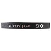 Emblem  (rear) ; Vespa 90S