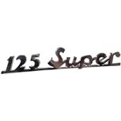 Emblem, 125 Super (script), rearS