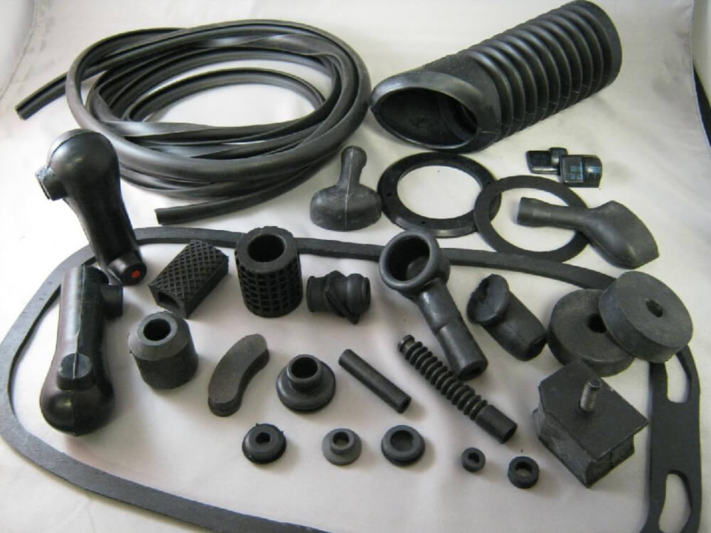 Complete Rubber Kit, Black, 27 Pcs