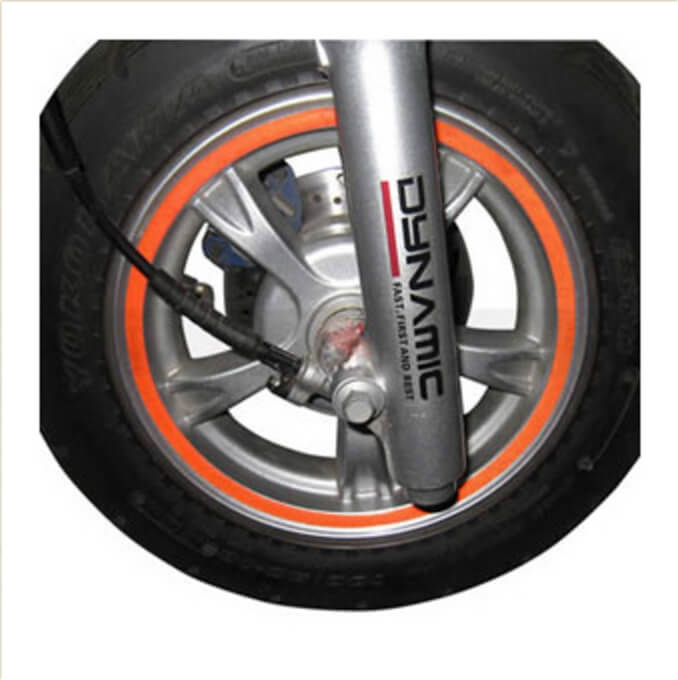 Reflective Sticker (for Wheel Rim) ; Universal  12 and under