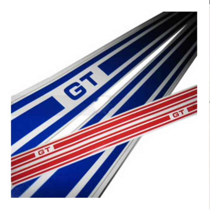 Side Panel Race Stripes ( Vespa GT200)