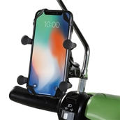Prima Cell Phone Holder (Mirror and Handlebar Mount)S