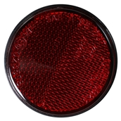 Rear Side Reflectors, Red; CSC go., QMB139 ScootersS