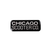 Decal (Chicago Scooter Company, Large); CSC go.S