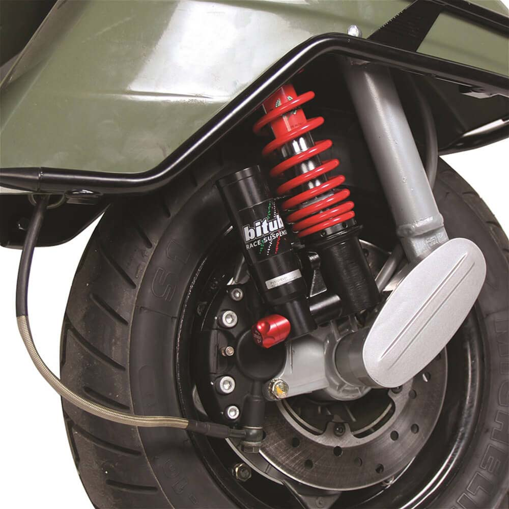 Shock on Vespa PX 150