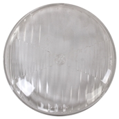 Headlamp Lens (Clear, 105 mm); VespaS