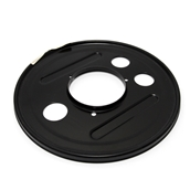 Rear Brake Dust Cover; P, Sprint, Rally, GLS