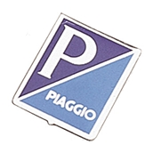Piaggio Shield Emblem (Aluminum); Most 60s VespasS
