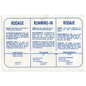 Running In Decal (Blue); VSCS