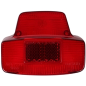 Taillight Lens with Full Top (Red, Plastic); VSC
