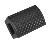 Brake Pedal Pad (Black); 50s-70s VespasS