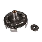Clutch Gear Assembly (Includes Crank Gear); V9A (primaries)S