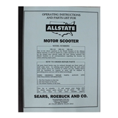 Allstate Manual (Parts Guide); 102-104S