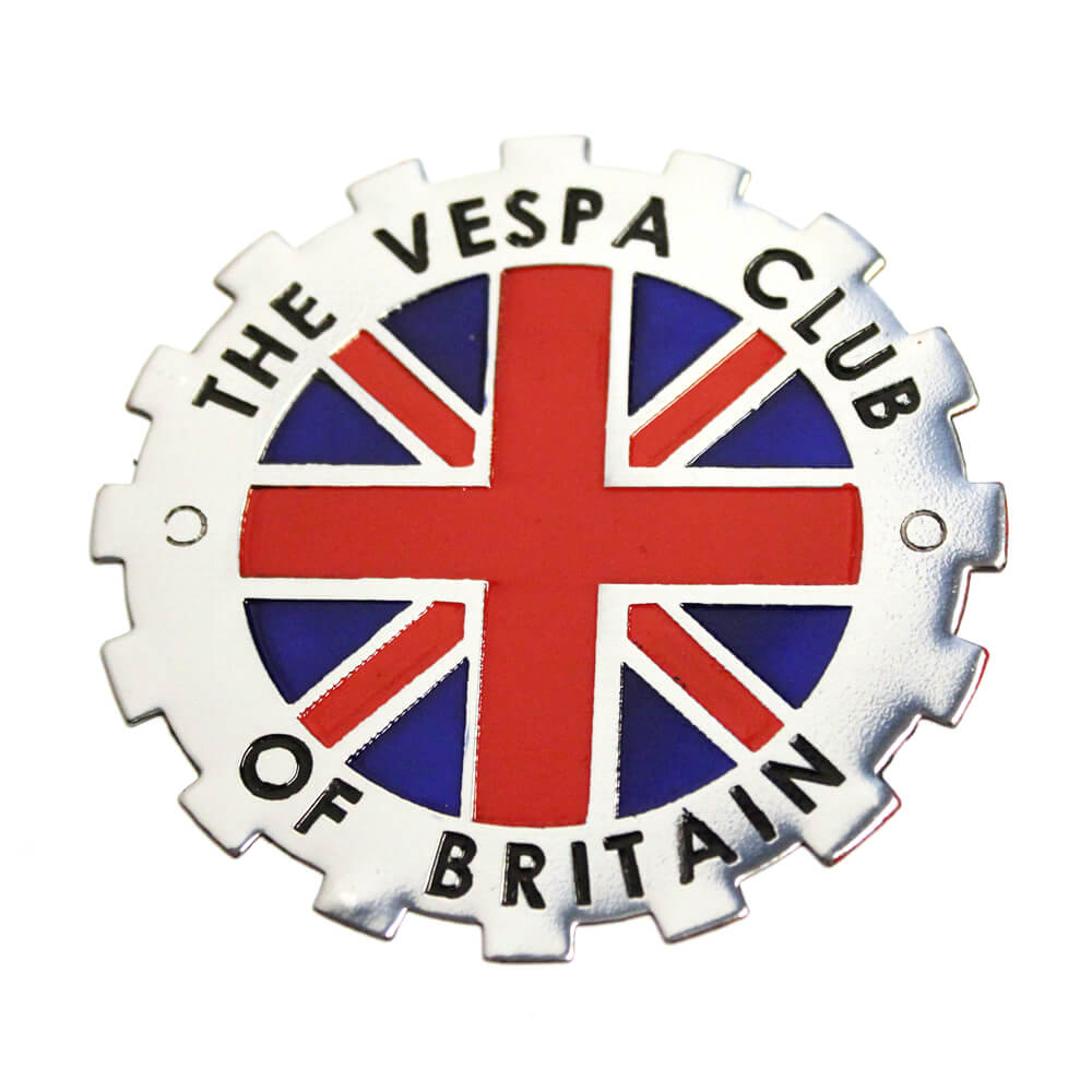 Vespa Club Of Britain Badge