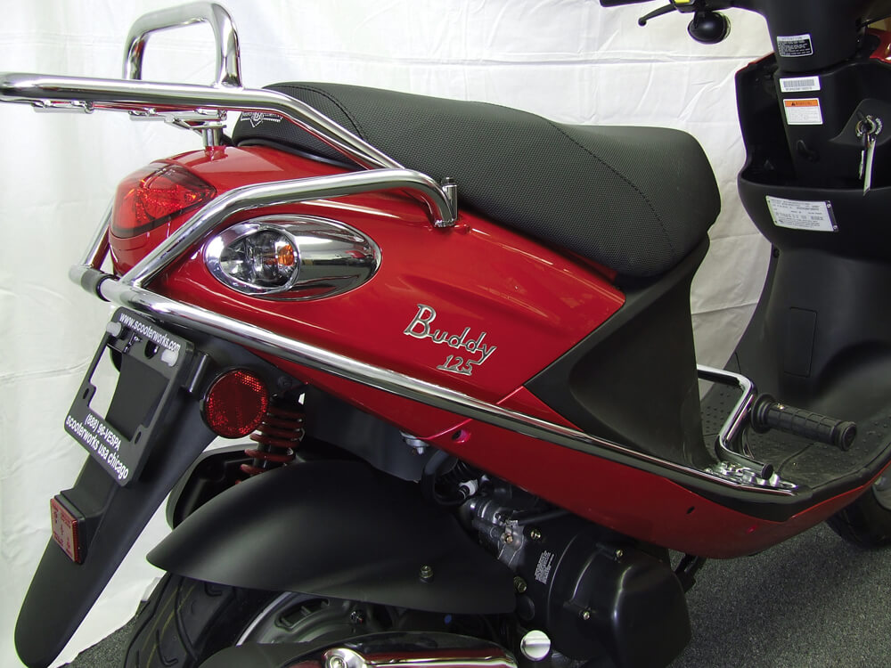 Cowl Protector on a Genuine Scooter