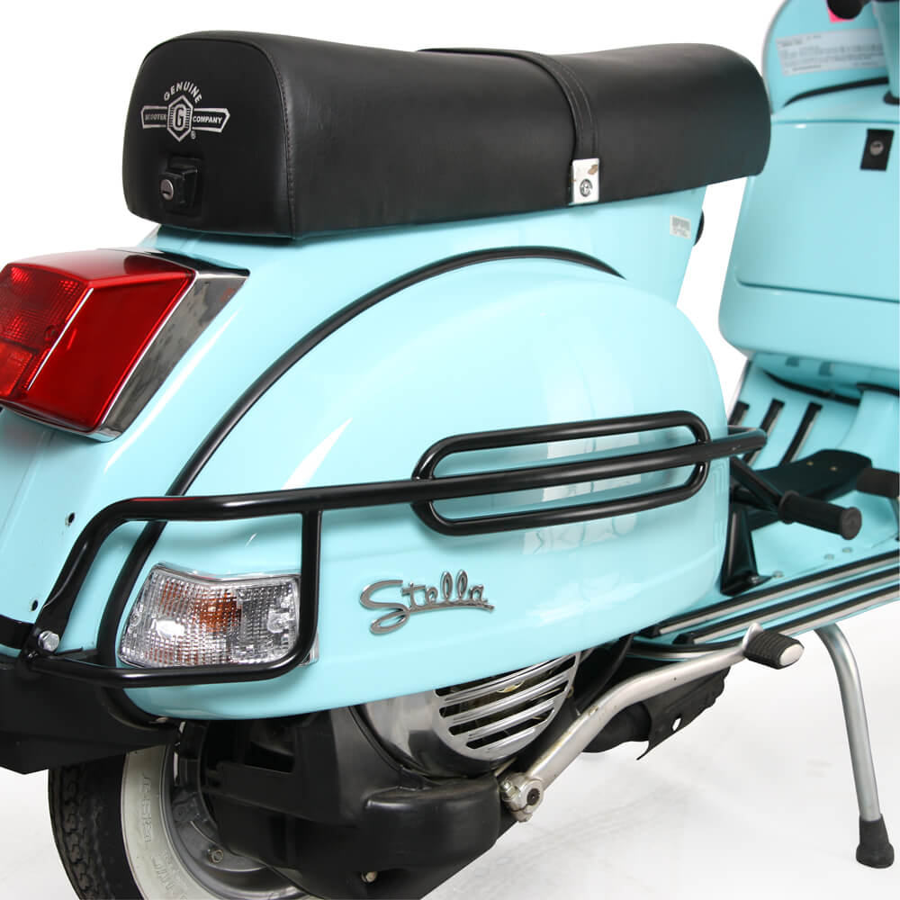 Cuppini Cowl Protector on a Stella Scooter
