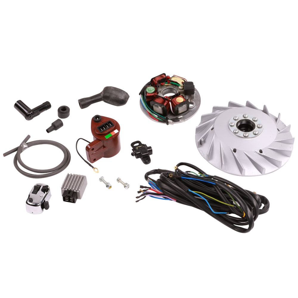 Tutti Ricambi Electronic Ignition Kit; LG Frame Vespa 2 Port