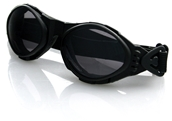 Bobster, Bugeye Riding Goggles (Clear Lenses)
