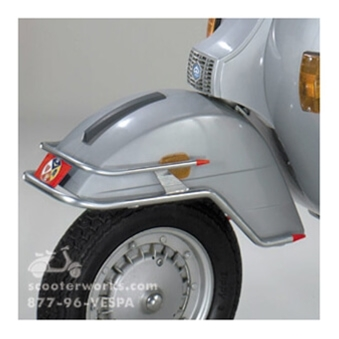 Front Bumper on Cuppini Scooter