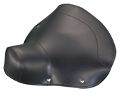 Saddle Cover (Black); '60-65 Vespas, VBB, VNB