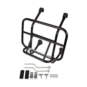 Cuppini Front Rack (Black); All vintage Vespas, StellaS