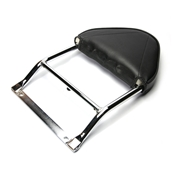 Cuppini, Backrest (Fits Stock Rack); Vespa GTS250S