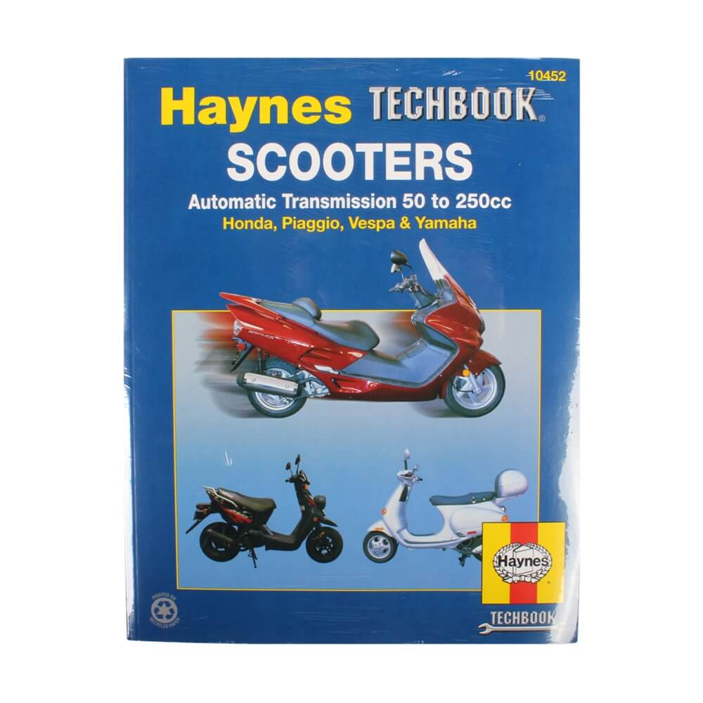 Haynes Manual for Automatic Scooters