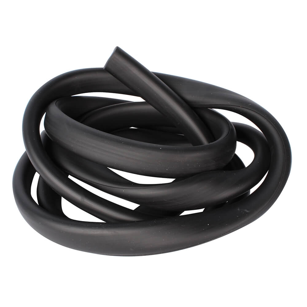 Black Rubber Legshield Trim