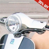 Faco, Headset Cover (Chrome); Vespa LX 50-150