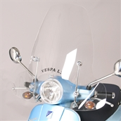 Faco, Windshield (Tall, Includes Hardware);  Vespa LXS