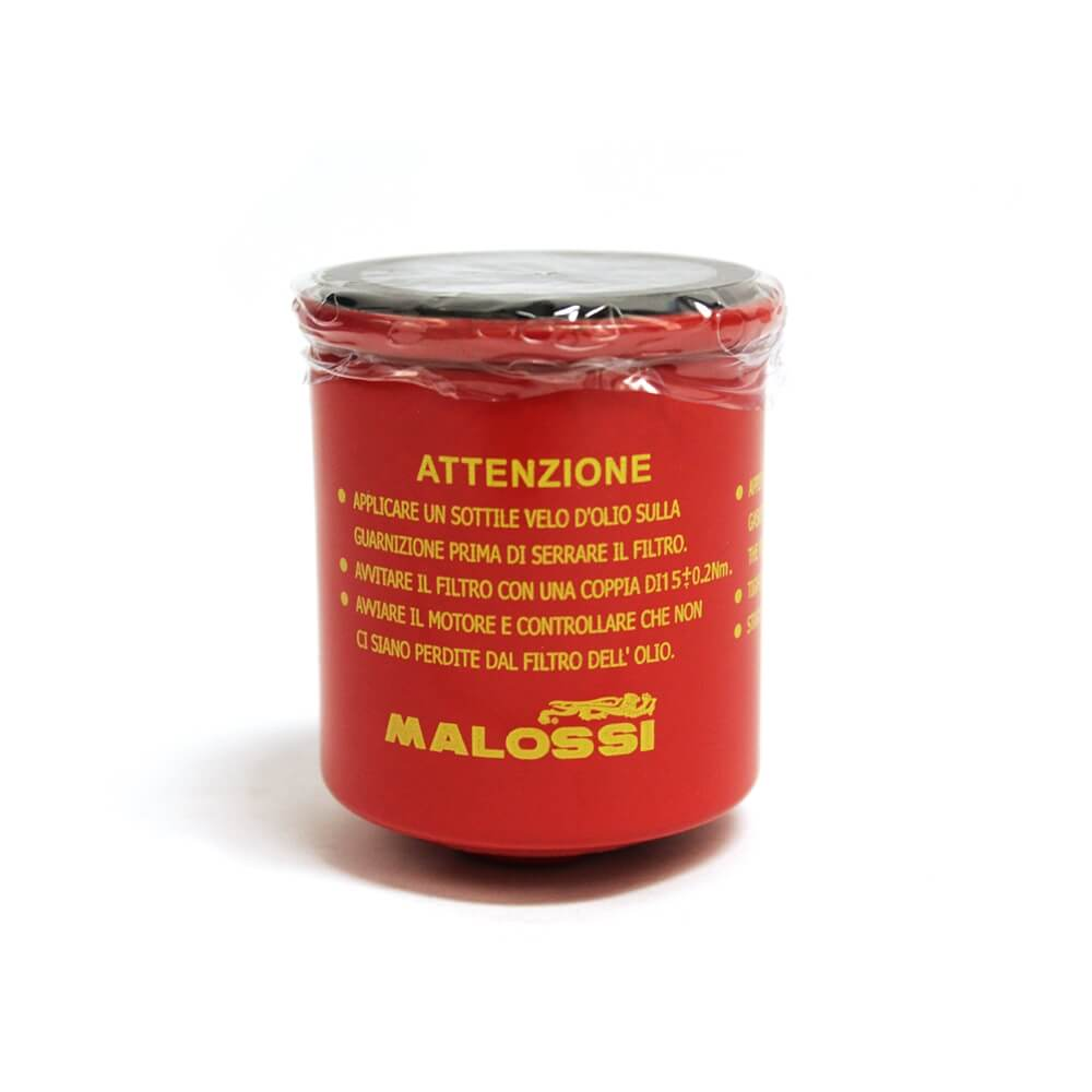 Malossi, Oil Filter (Red Chilli); VespaGTS/LX/ET4/Buddy/Blur