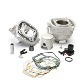 Malossi Cylinder Kit (72cc, MHR, Alloy, 12mm Pin, LC); PiaggS