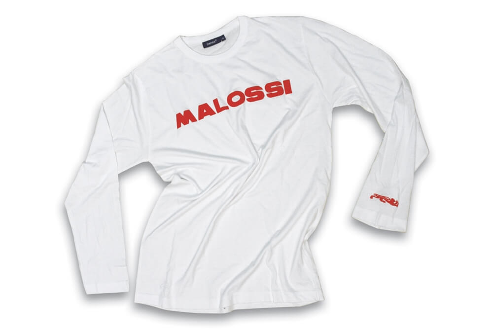 Malossi Long Sleeve Shirt (White)