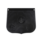 St Christopher Mud Flap (Black)