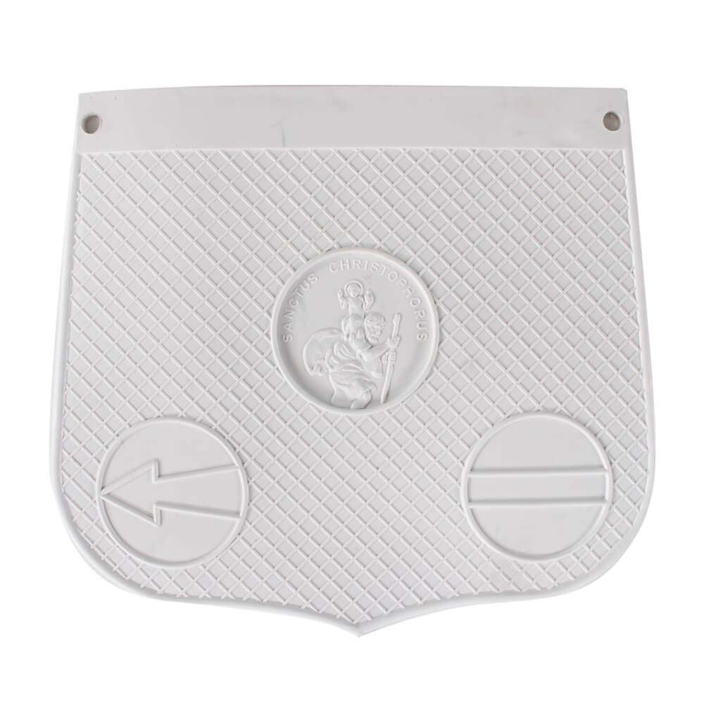 St Christopher Mud Flap (White)
