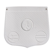 St Christopher Mud Flap (White)S