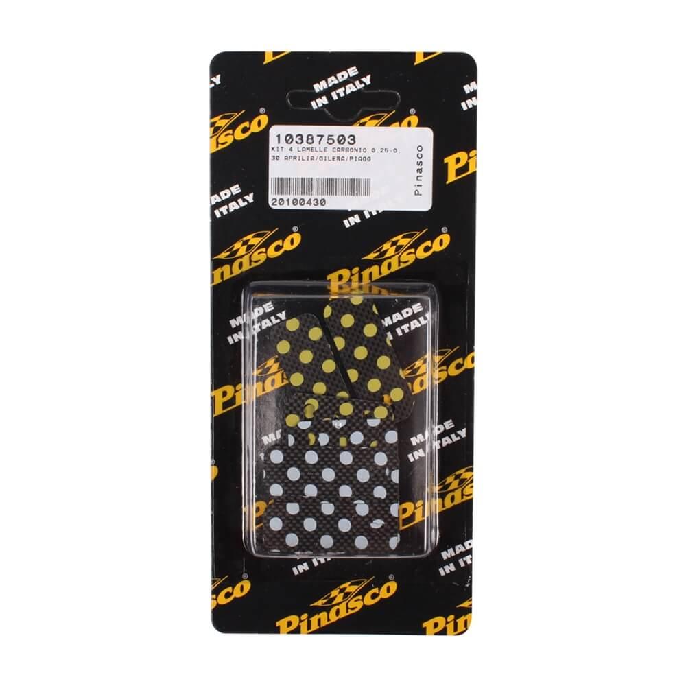 Pinasco Reed Petals (Carbon, 0.25, 0.30mm); Minarelli