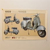 Poster (1959 GS150)S