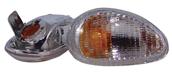 Clear Front Turn Signals, Euro - Vespa ET2/ET4S