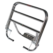 Rear Rack, Old Style Chrome - 60s-70s largeframe 32BS