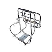Cuppini Rear Rack (3- Way, Chrome); P/PX, Stella 2TS