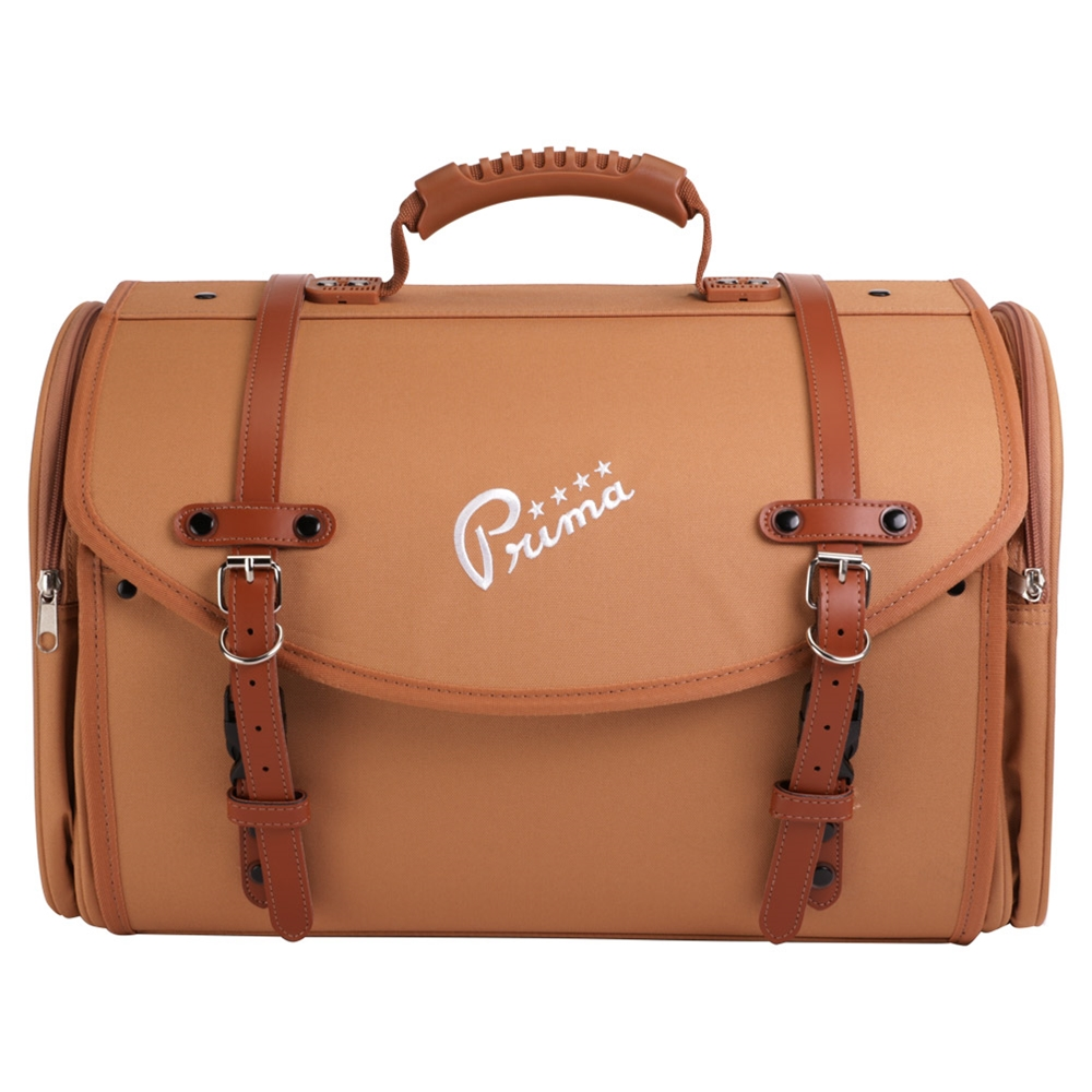 Brown Large Prima Roll Bag